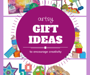 Kid's Gift Guide:  Make an Art Kit for a Holiday Gift!