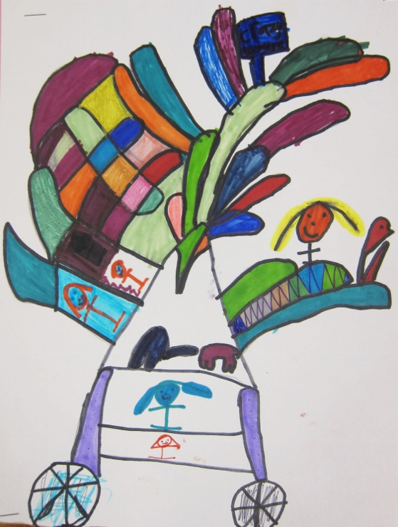 Dr Seuss Inspired Art Project (9)