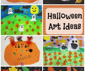 Halloween Art Ideas