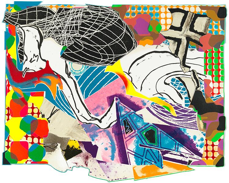 Frank Stella Artwork