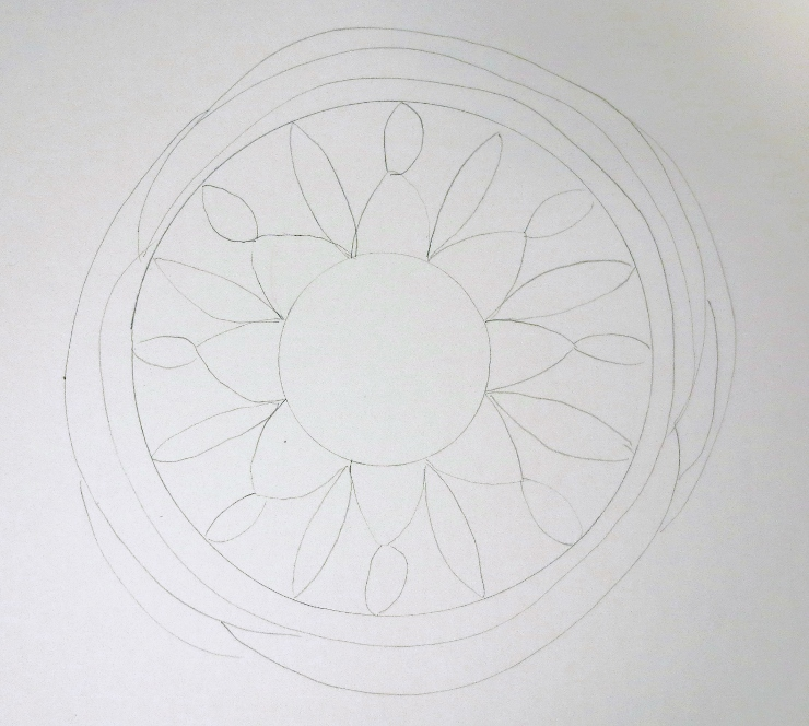 Watercolor Mandala Step by Step