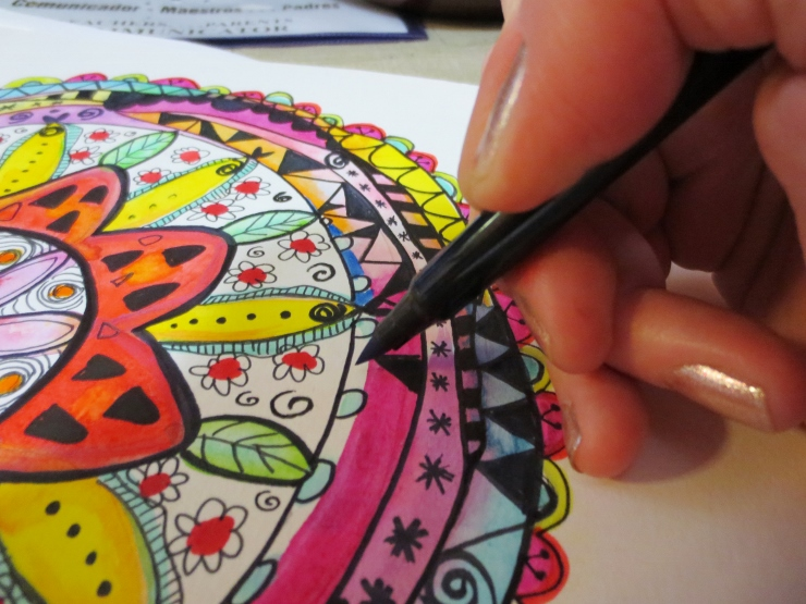 How to Make a Watercolor Mandala