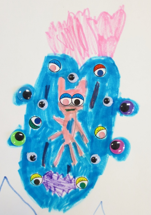Sticker Eye Monsters
