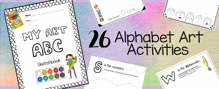 Alphabet Art Printable Activities