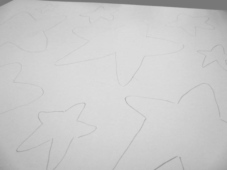 Sketch stars