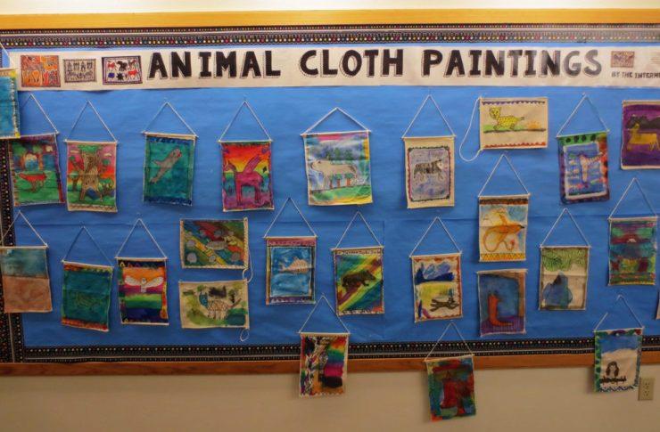 Animal Cloth Paintings