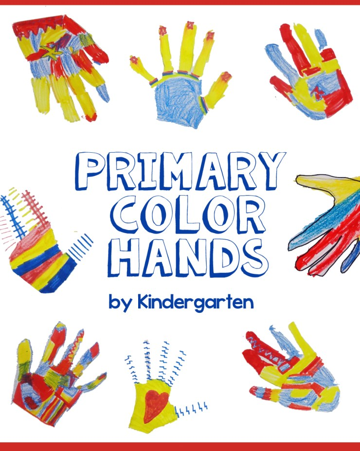 Primary Color Hands Cover
