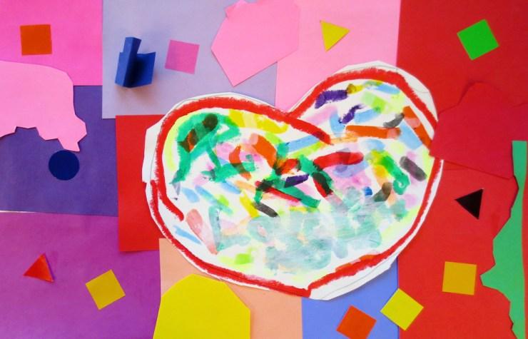 Confetti Heart 2