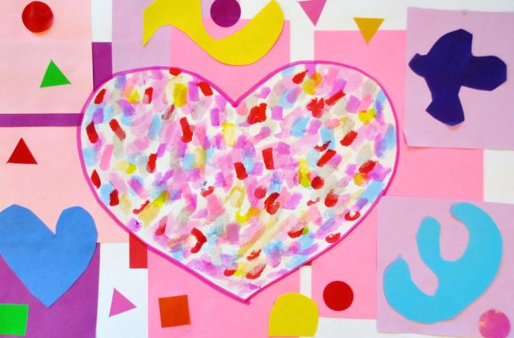 Confetti Heart Matisse