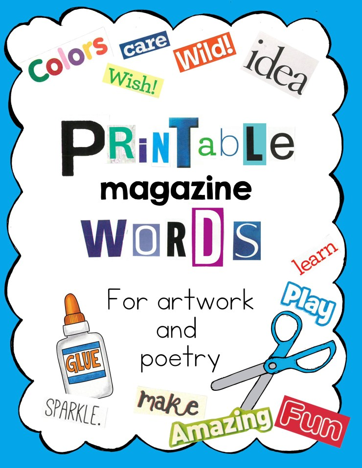 Printable Words and Phrases