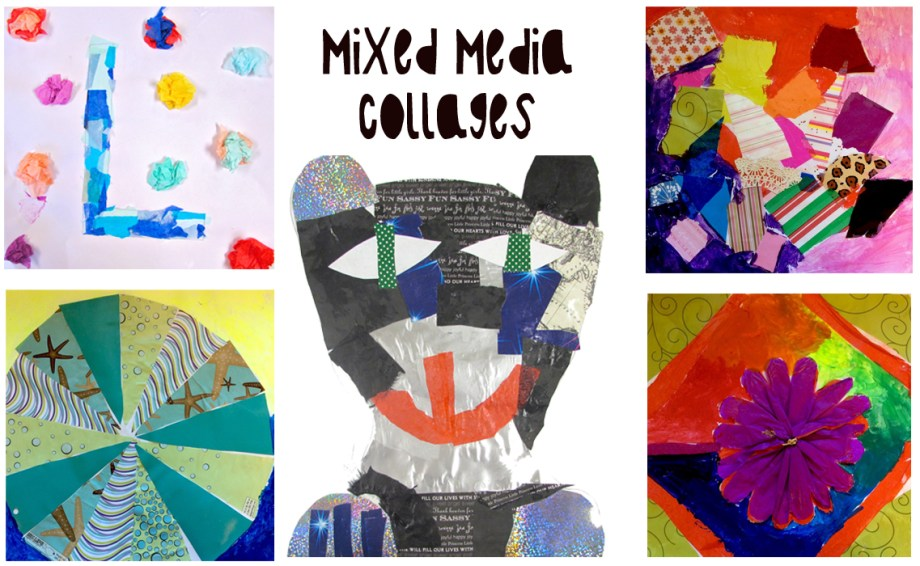 Collages by kids