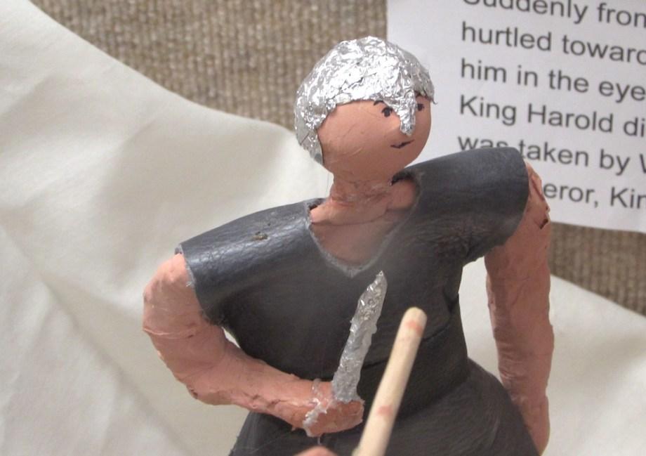 how to make a paper mache figure