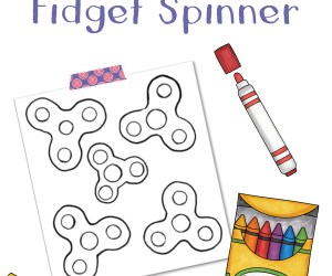 Design Your Own Fidget Spinner:  Free Download!