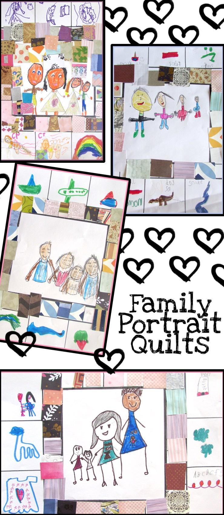 Family Portrait Quilts