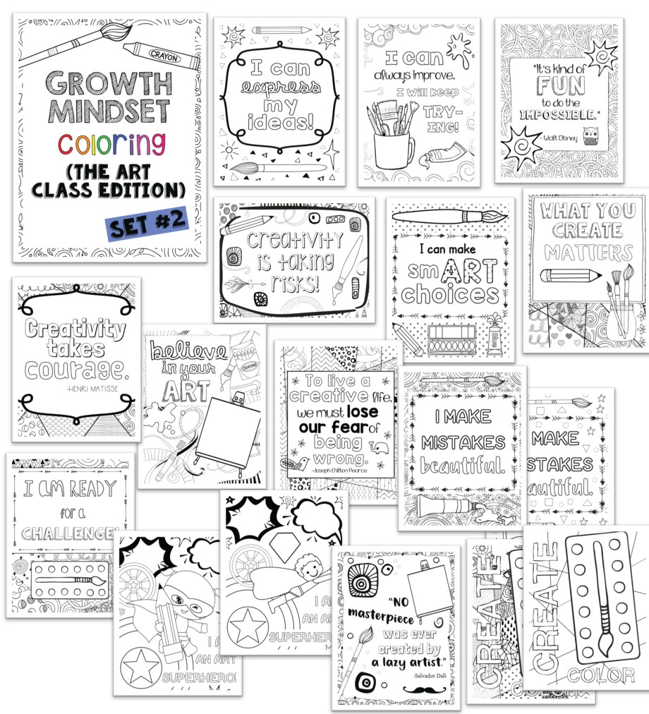 Growth Mindset Preview Set 2