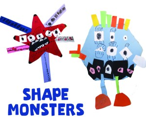 Shape Monsters Art Project