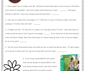 Girl Scout Cookie Math