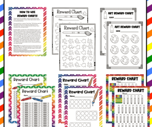 Art Class Behavior Reward Charts