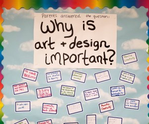 Open House Idea for Art Class
