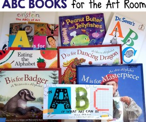 ABC Books for the Art Room