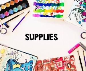 My Favorite Art Journaling Supplies