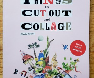 Fun Finds:  Two Collage Books