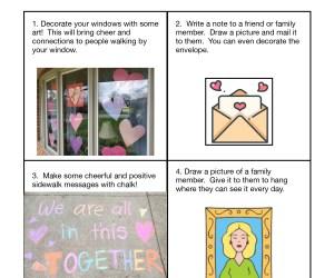 Art Choice Board-  Distance Learning