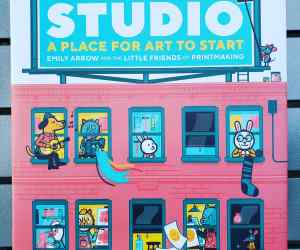 Distance Learning- First Week of Art- The Studio book