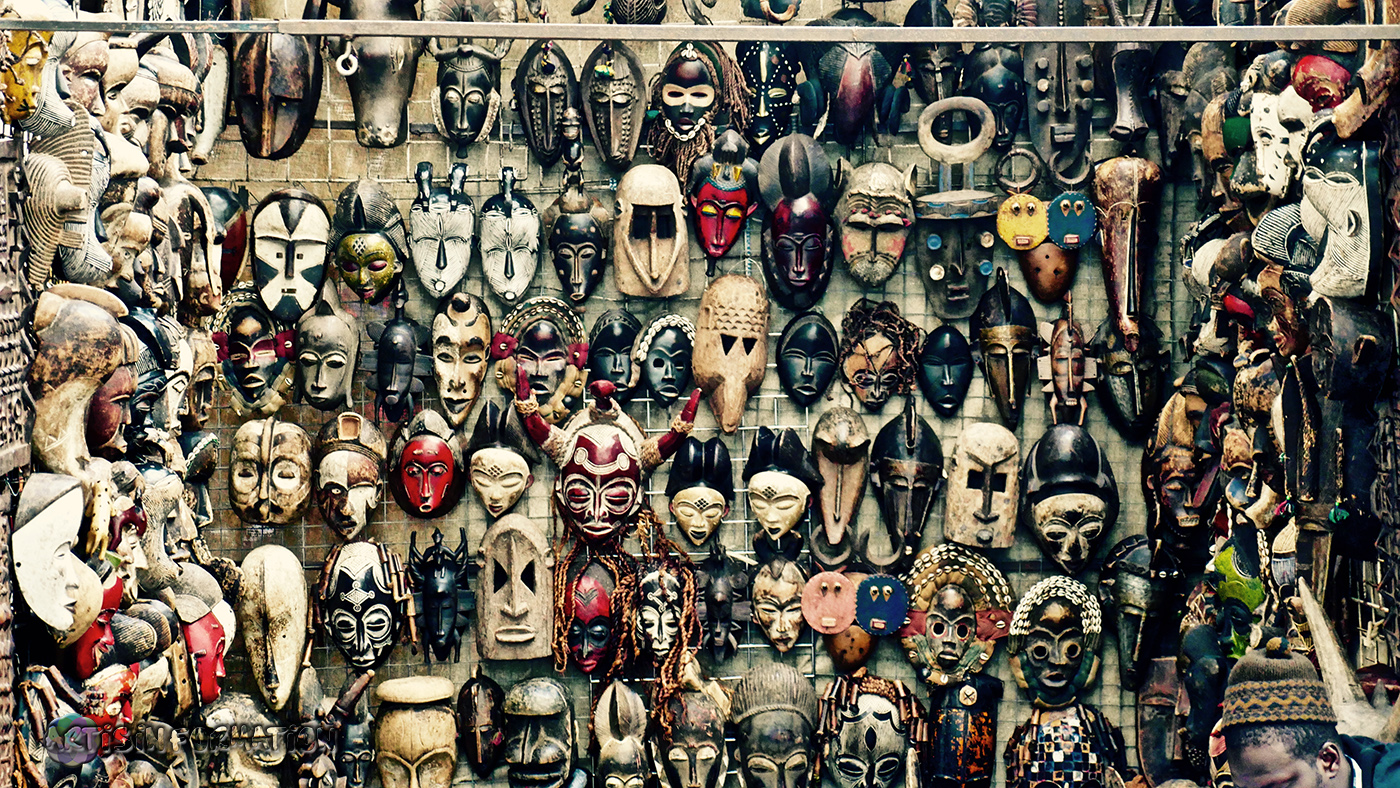 ArtIsInFormation Photography South Africa Art Masks