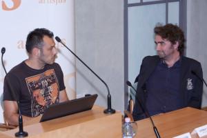 Czutor Zoltán, zeneszerző és György Péter az EMI-tól