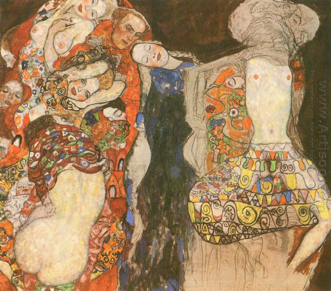 The Bride by Gustav Klimt