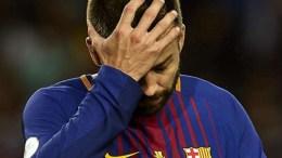 Diolok-Olok Dengan Kemenangan Real Madrid, Pique Kesal Barcelona Tidak Mampu Bangkit