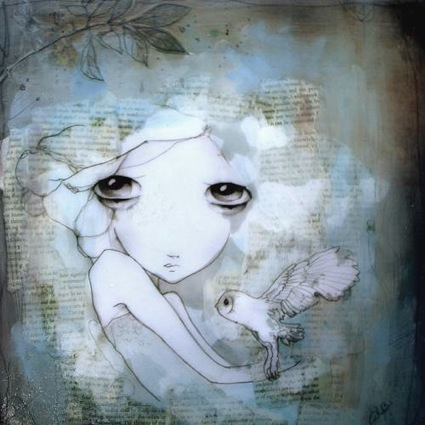 Kendra Binney - Portland OR Painter - Oregon Based Artist - Artistaday.com