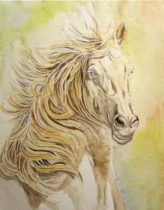 aquarelle-cheval