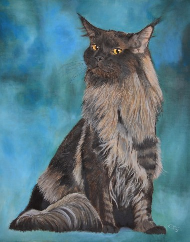 tableau maine coon