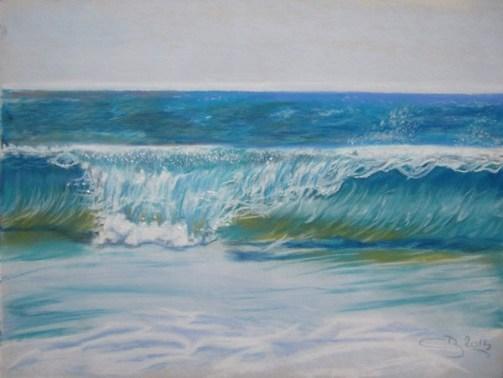 vagues pastels
