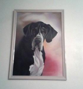 tableau dogue allemand