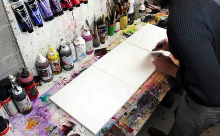 comment peindre abstrait