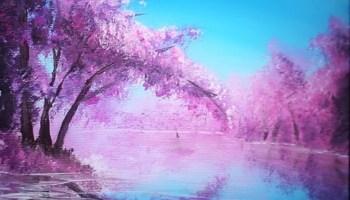 Peindre Un Paysage Facile à Lacrylique Débutants