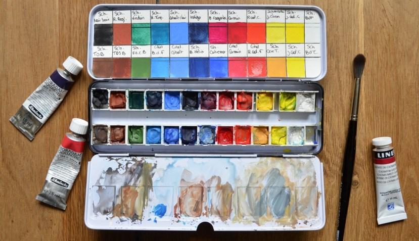 palette gouache