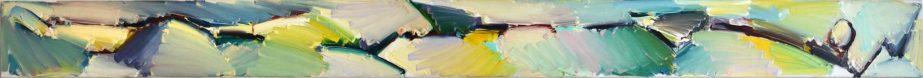 GUDUSHAURI Khatia-Intension X-Huile sur toile-250×20 cm
