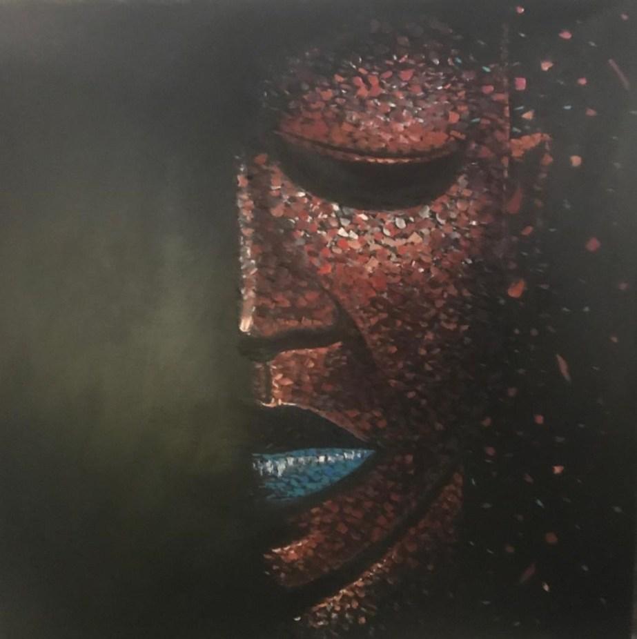 JONATHAN VATUNGA-Portrait-Mixte-127×127 cm