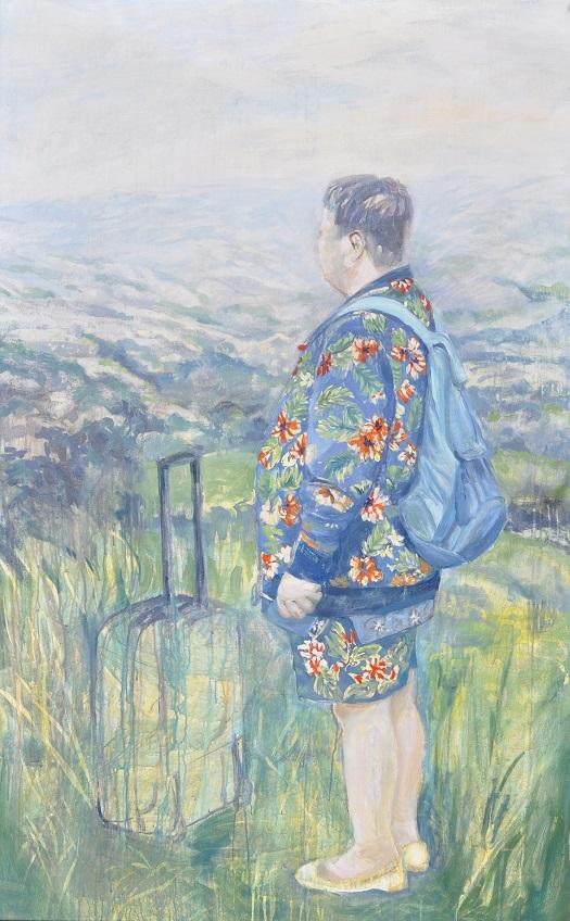 MARREL Solenn-Sans-titre-Acrylique et huile sur toile-100x160cm site