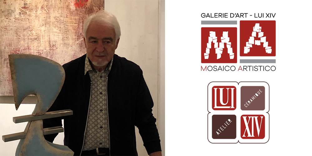 Gianfranco Cencio expose à la Galerie Mosaïco Artistico