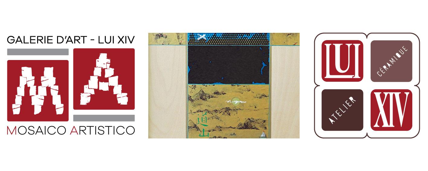 Alain Coppey expose à la Galerie Mosaïco Artistico