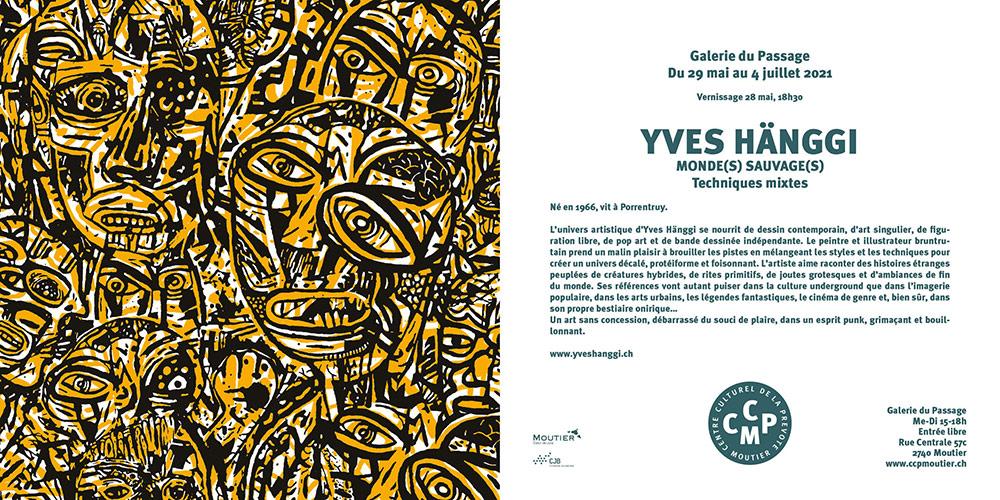Yves Hänggi expose à la Galerie du Passage