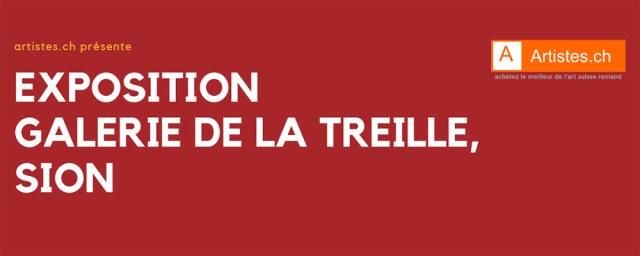 artistes.ch expose à la Galerie de la Treille, à Sion
