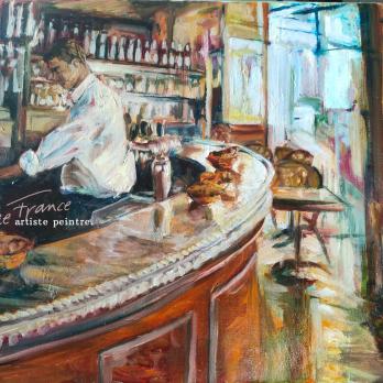 Petit-déjeuner au Café - Marie-France Krähenbühl