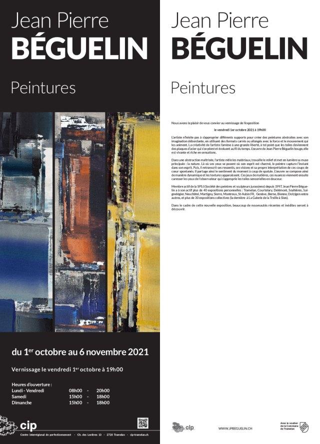 Jean Pierre Béguelin expose au CIP de Tramelan