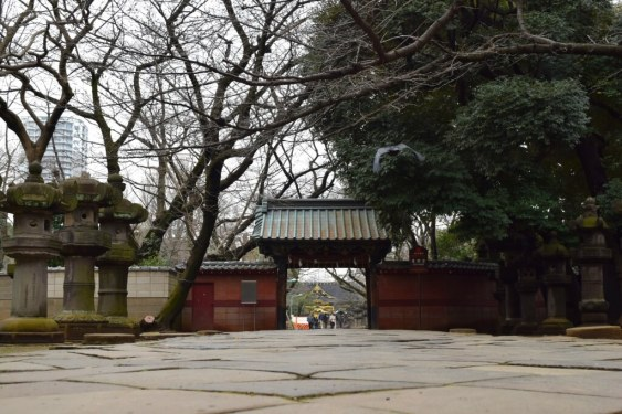 Temple Gates at Ueno Park